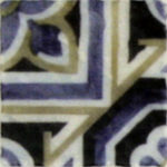 unique carrara mosaic tiles inspired by the Mediterranean for flooring, kitchen backsplash, fireplace designs and patterns 1x1 patterned tiles rustic vintage blue colorful