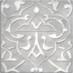 Charmed Night Pewter <br> Shown on Carrara