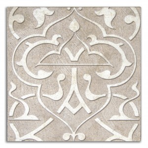 taupe luxury decorative tile on natural stone fancy designer patterned tile decos accents limestone carrara marble thassos botticino durango 12x12 6x6