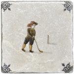 Delft Golfing Right <br> Shown on Botticino