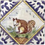 Delft Squirrel <br> Shown on Botticino