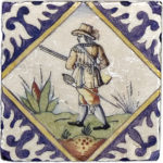 Delft Hunting <br> Shown on Botticino