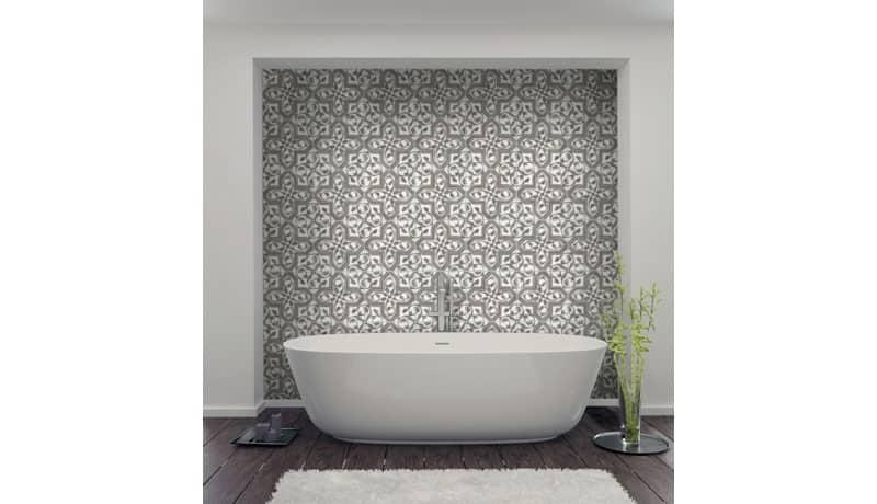 elegant tile bathroom shower walls floors vanity tub surround luxury sophisticated elegance sophistication 3x3 4x4 6x6 8x8 12x12
