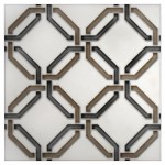 contemporary decorative tile fireplace kitchen backsplash wall tile choice of stone and size accents decos