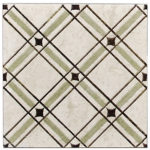Madison Weave Green <br> Shown on Limestone