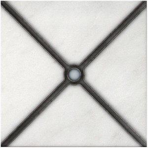 simple patterned tile art tiles decorative for bathroom fireplace kitchen 6x6 12x12 3x6 6x12 4x8 8x8 3x3 marble carrara botticino thassos limestone straight-edged tumbled honed wall flooring floors back splash tub shower wall fire place hearth mantle subtle clean