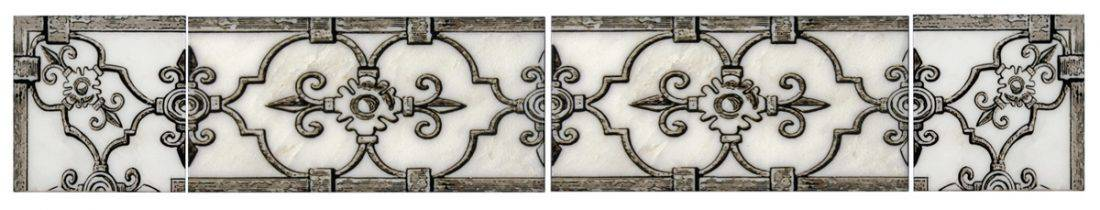 Serenata Listellos and Corners classic designer tile