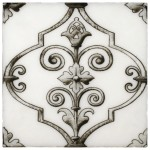 classic designer tiles kitchen stove bathroom fireplace tub surround shower wall floor flooring vintage classical