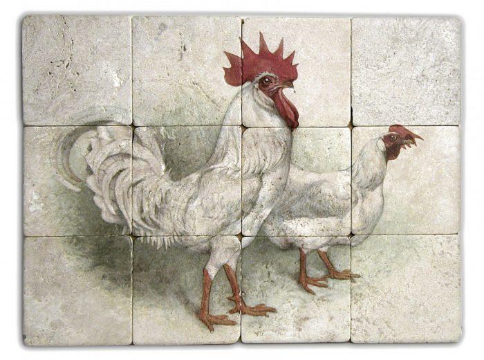 Blanc Cochet Mural