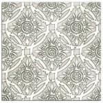 tub tile patterns patterned designer designs circles flowers unique beautiful interesting luxury high end