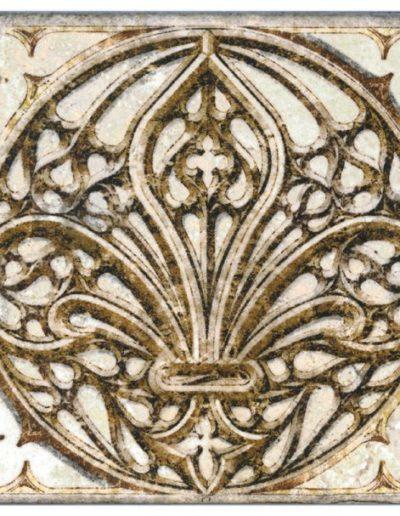 Cathedral Fleur d'Lys Accent