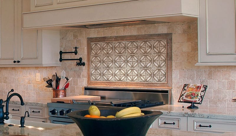Cathedral Simple Kitchen Backsplash