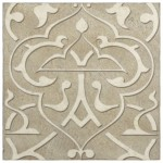 taupe luxury decorative tiles for bathroom wall tub surround shower flooring floor pre-sealed and ready to install on natural stone