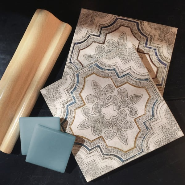 made to order custom tile design unique mix and match backsplash bathroom tile flooring marble travertine limestone straight edged tumbled botticino carrara thassos customization made-to-order makes as many changes as you want