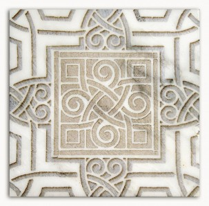 celtic patterned tile and designs for kitchen tub walls stove top range flooring accents patterns high end art decoratives