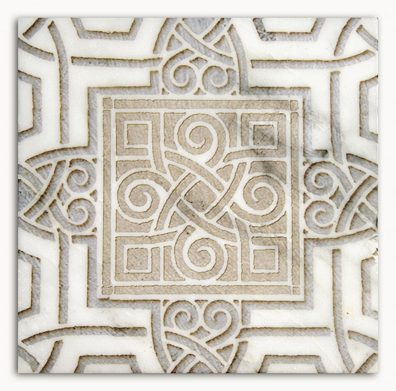Celtic Patterned Tile Designs Kitchen Bath Home Stone
