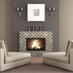 Insight Pattern Fireplace