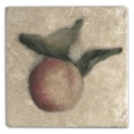 Cynara Peach Accent Tile