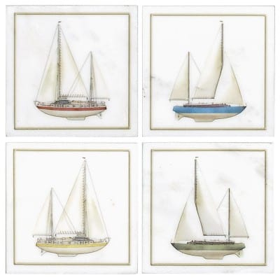 Sailboats Accent Collection
