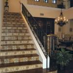 Amaretti Pattern Stair Risers