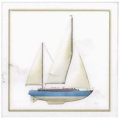 Blue Sailbot Accent