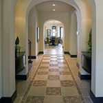 Cathedral Pattern Flooring