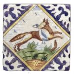 Delft Hunting Fox Accent