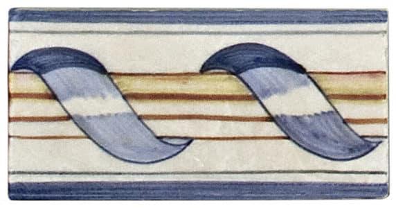 Holland Ribbon Listello - Blue