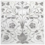 unique wall murals on natural genuine stone custom sized patterns and designs limestone durango carrara marble thassos 6x6 4x4 12x12 designer patterns elegant sophisticated interesting beautiful pre-sealed high-end