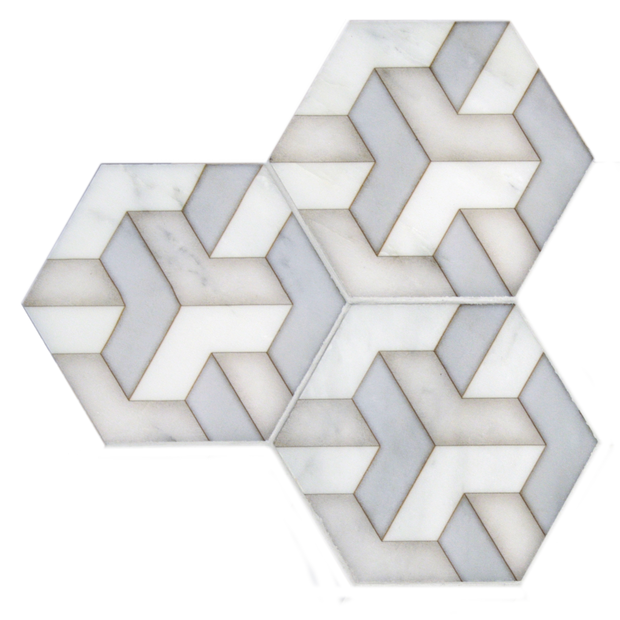 unique marble hexagon tiles for vanity backsplash shower wall tile stove top