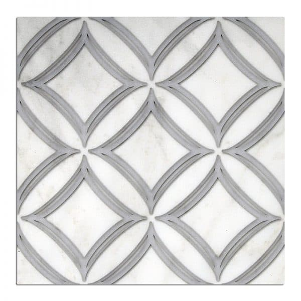Ellipse - Chrome Grey 12x12