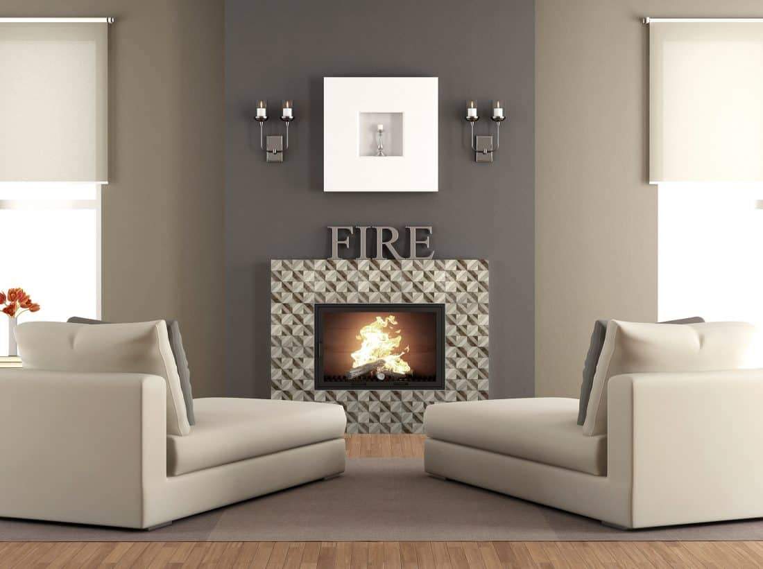 Insight (Toffee) Fireplace