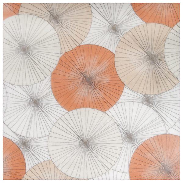 Parasol Poppy Carrara