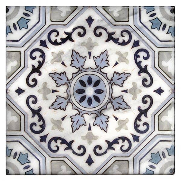 Sanza - Snowflake Blue 6x6