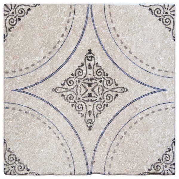 Ventana Deep Blue Perle Blanc