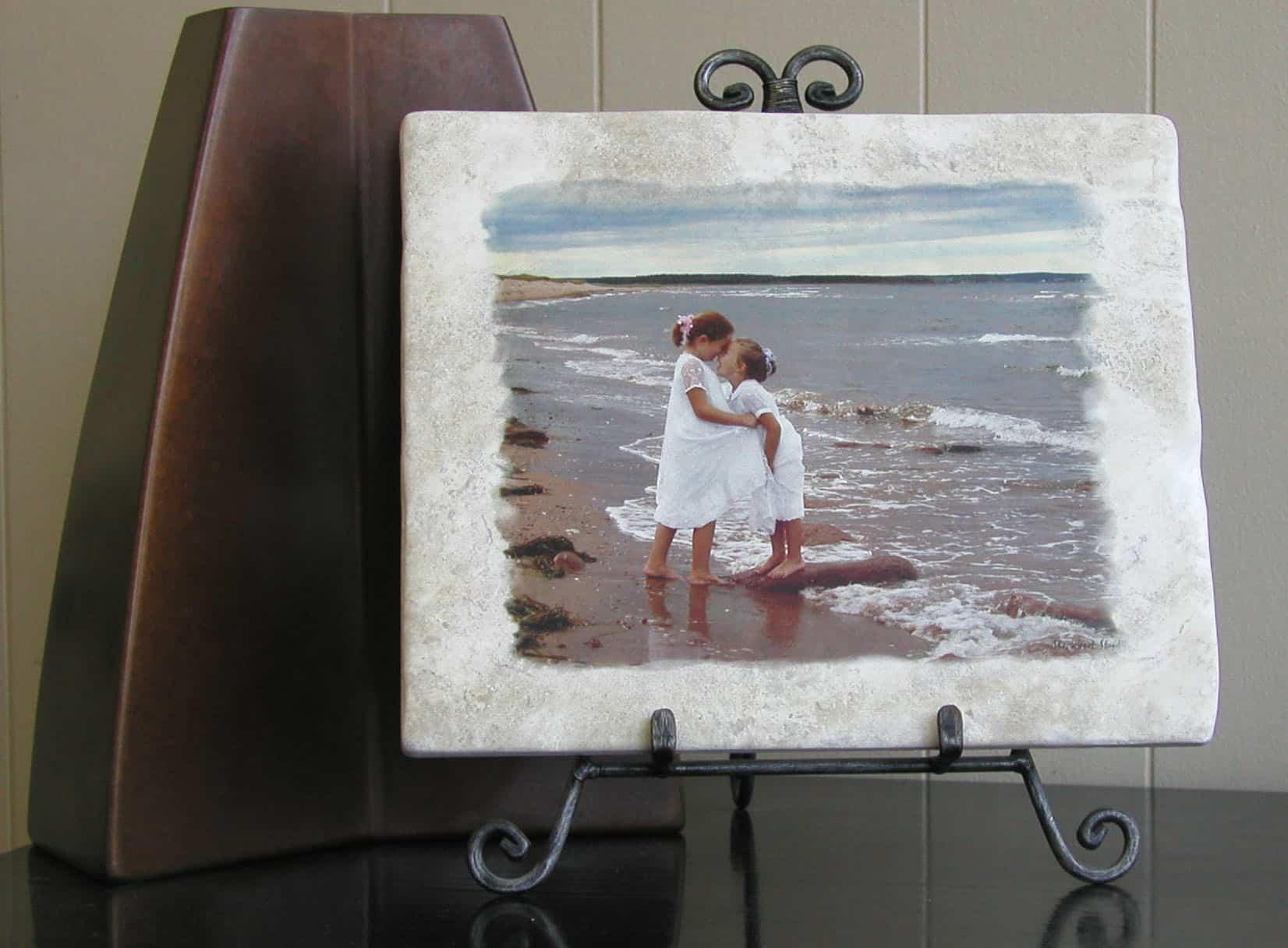 Beach Picture PhotoStone