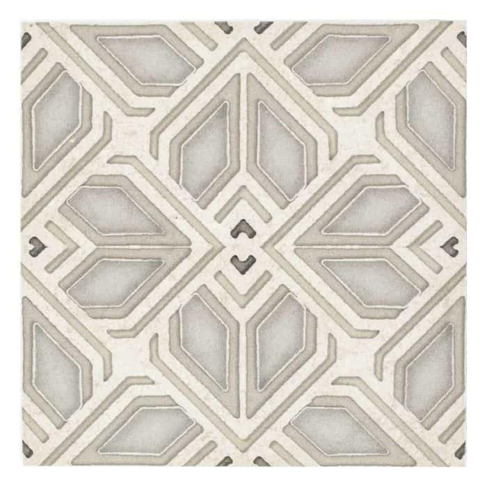 Avery Grand Pattern (Latte) on Limestone