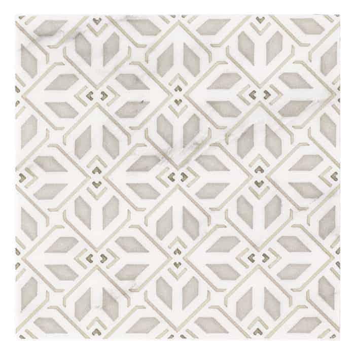 Avery Petite Pattern (Latte) on Carrara