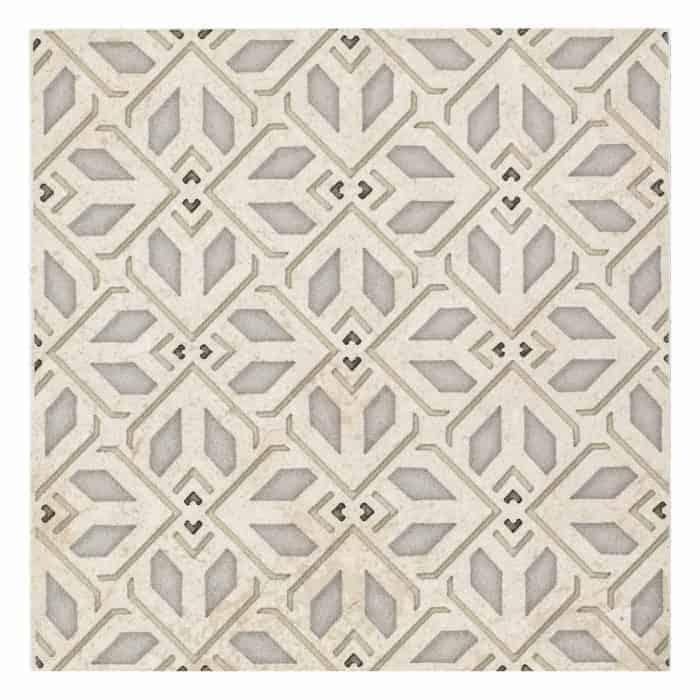 Avery Petite Pattern (Latte) on Limestone