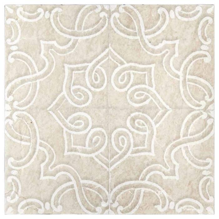 Lennox Pattern (Laxe) on Limestone