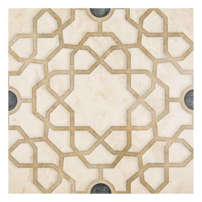 Medina Pattern (Onyx) on Limestone