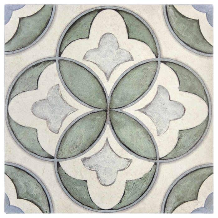 Mullholland Pattern (Cypress) on Limestone