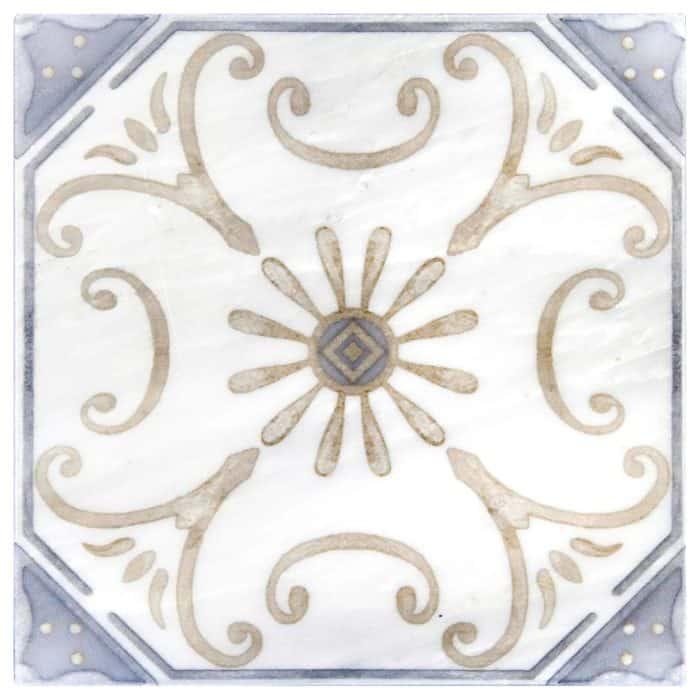 Solana Pattern (Sand) on Carrara