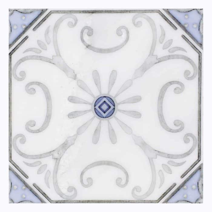 Solana Pattern (Sky) on Carrara