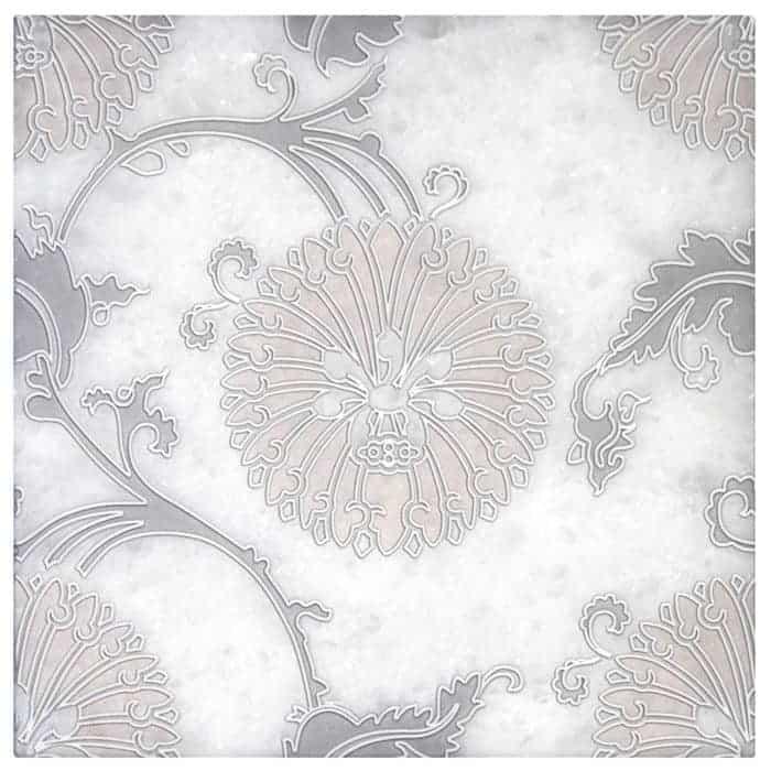 Eliana Pink Grey on Arctic White