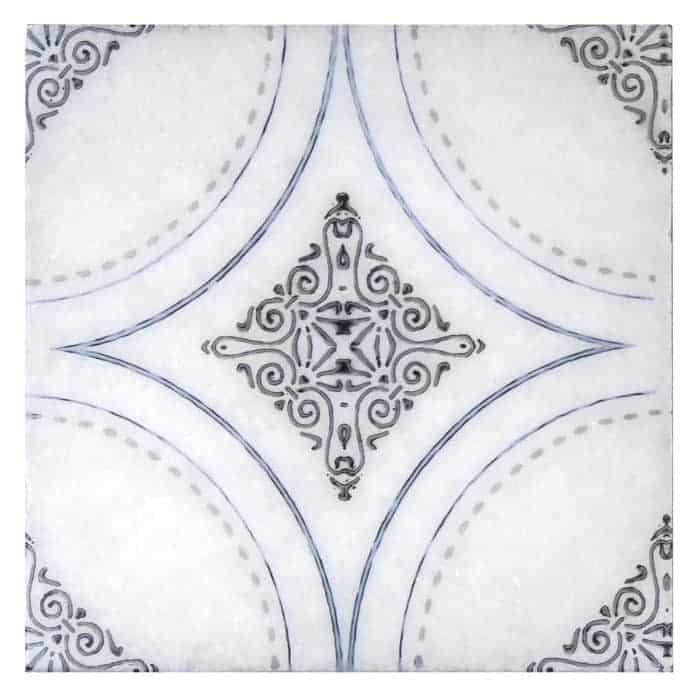 Ventana (Blue) on Artic White REVISED