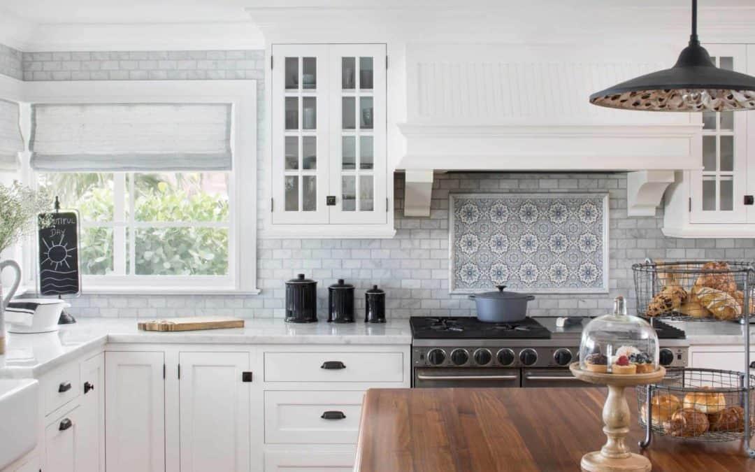 Kitchen Backsplash Ideas: the Sanza Collection