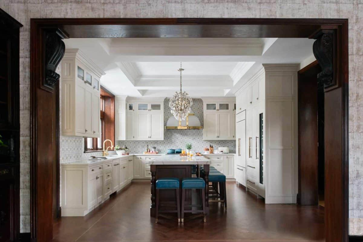 diana weinstein kitchen backsplash sanza pattern sesame