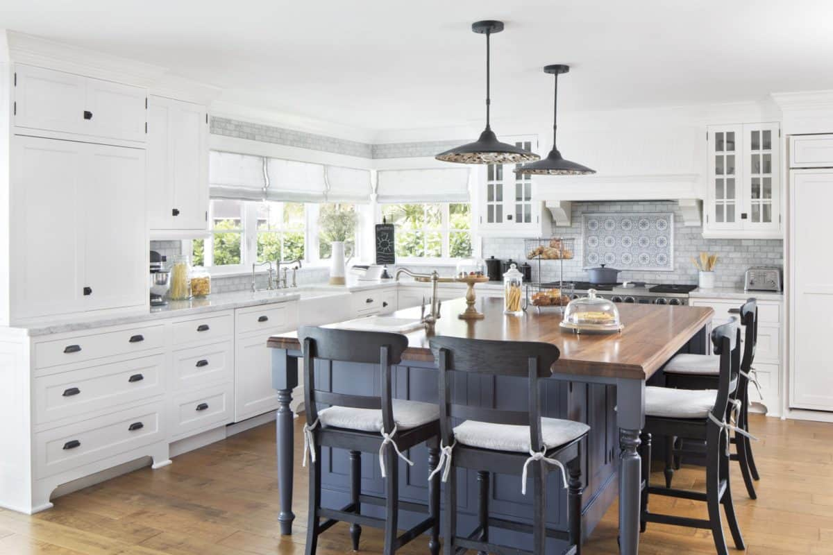 sanza pattern coastal kitchen backsplash